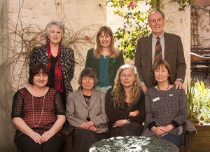 The Winners with Margaret Drabble ond other members of the team